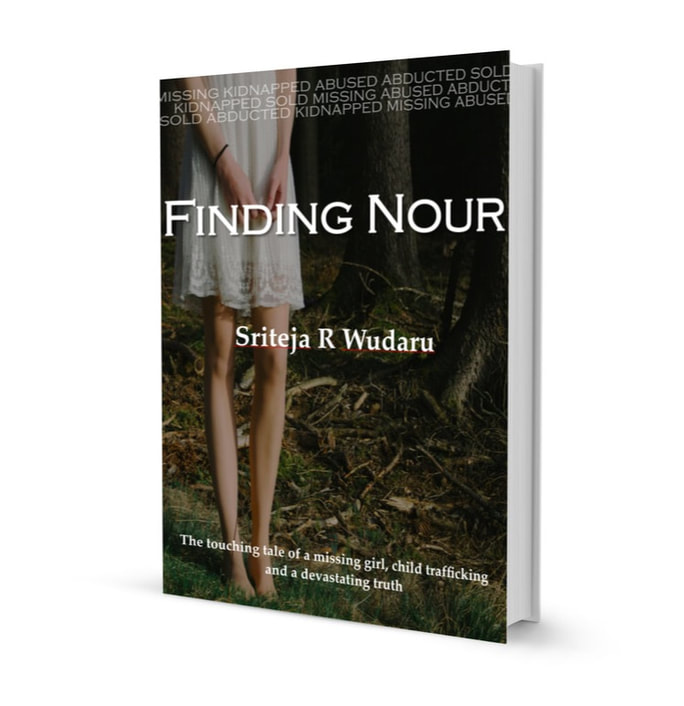 The Book Cover of Finding Nour by Sriteja R Wudaru